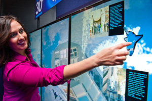 MultiTouch Wall for NASA